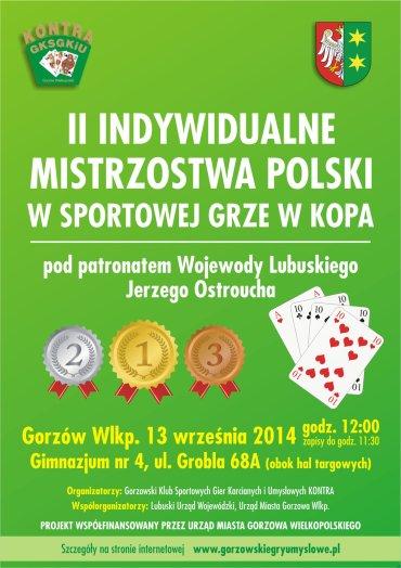 II Indywidualne Mistrzostwa Polski w Sportowej Grze w Kopa